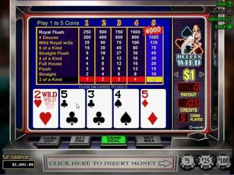 Best online casino for video poker casino royale length movie