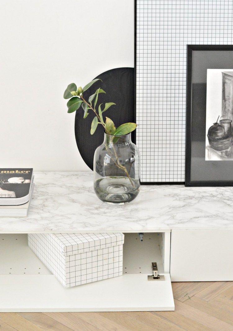 Ikea cabinet hack minimal living room tv u storage unit living