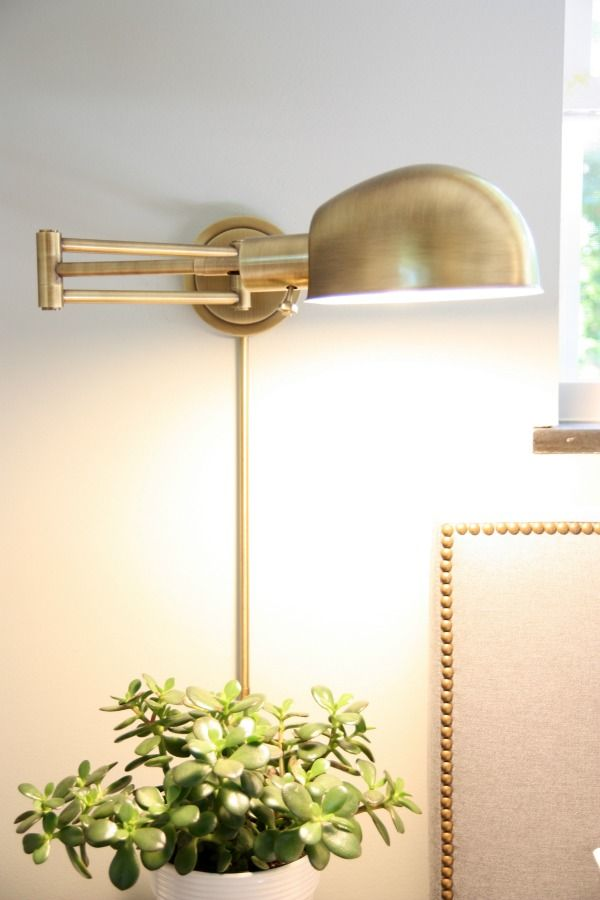25 Hacks For Living In Small Spaces Wall Sconces Bedroom