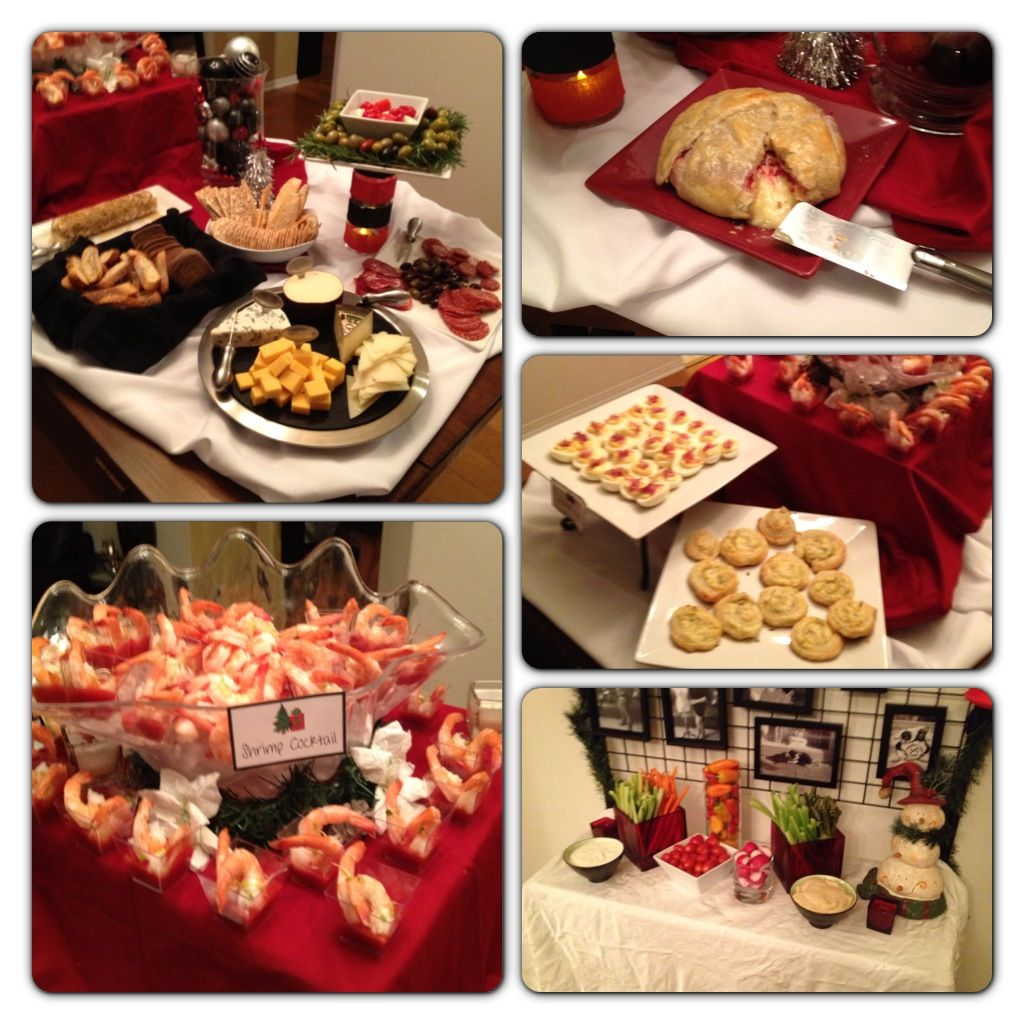 annual evanshire holiday open house - food stations | graduation
