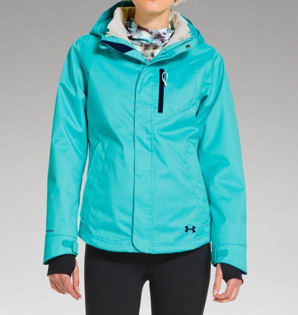 under armour jackets women s. women\u0027s ua coldgear® infrared sienna 3-in-1 jacket. under armour jackets women s