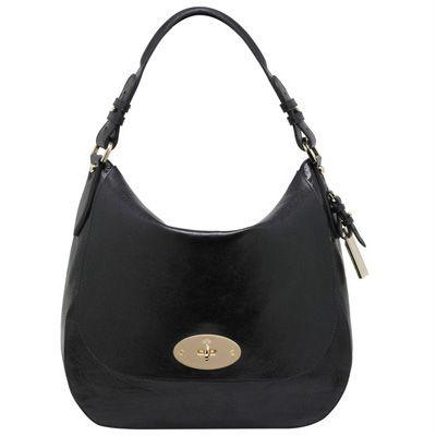 Black Mulberry Hobo Postman S Lock Bag Fashionhandbags