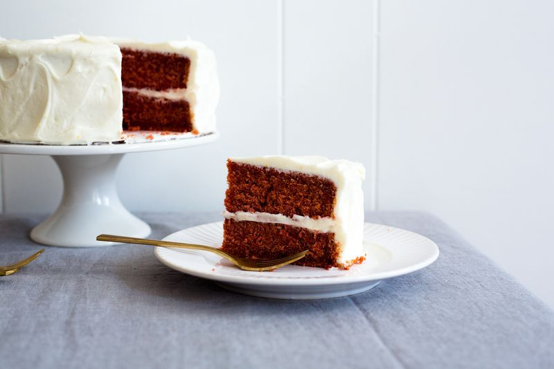 Naturally-Dyed Red Velvet Cake | Z all things food | Beet ...