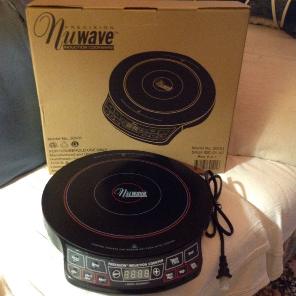 Nuwave Pic Precision Induction Cooktop Model 30101 30121 Induction Cooktop Cooktop Nuwave