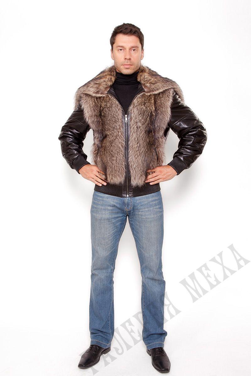Waschbär-Jacke mit Kapuze