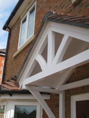 House · Timber door canopies- ... & Timber door canopies- traditional cottage canopies - front door ...