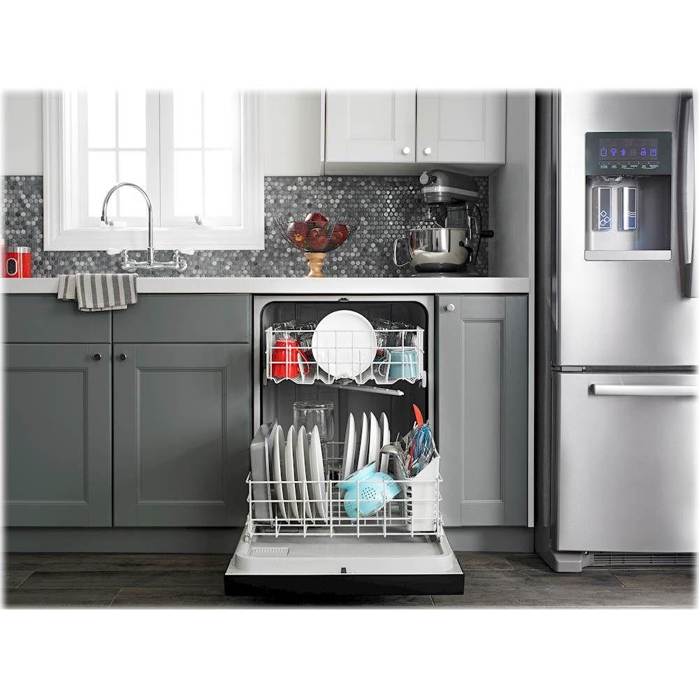 "Amana 24"""" BuiltIn Dishwasher White Built in"