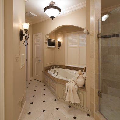 white bathroom cream bronze accents design, pictures