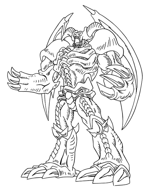 Red Eyes Dragon From Yu Gi Oh Coloring Page Netart Monster Coloring Pages Dragon Coloring Page Cartoon Coloring Pages