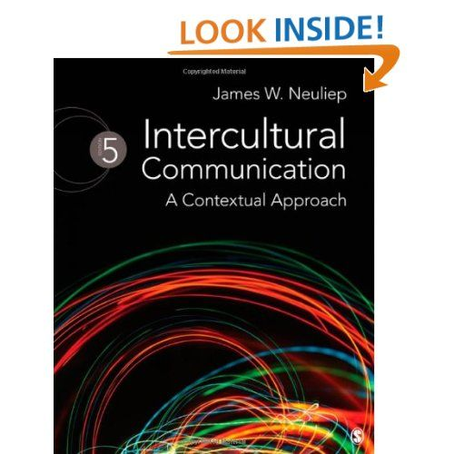 Intercultural Communication A Contextual Approach James W