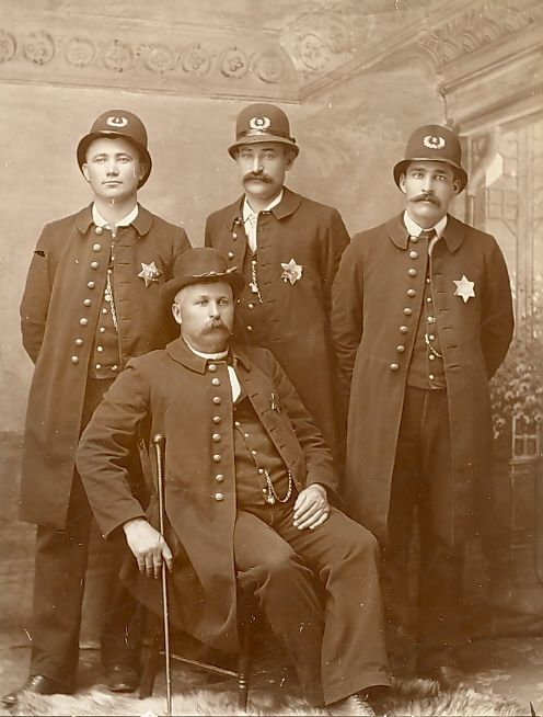 Cooper And The Leftover Extras Who Are Members Of Woodrow City S Finest Police Uniforms Police Military Fashion