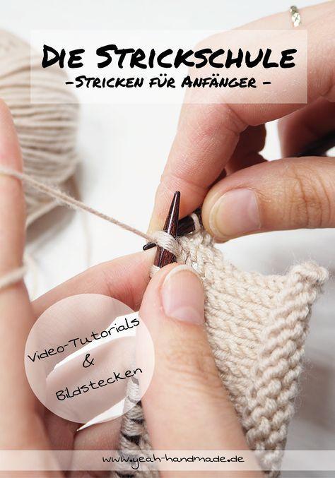 Was ist die Strickschule? • Yeah Handmade #strickenundnähen