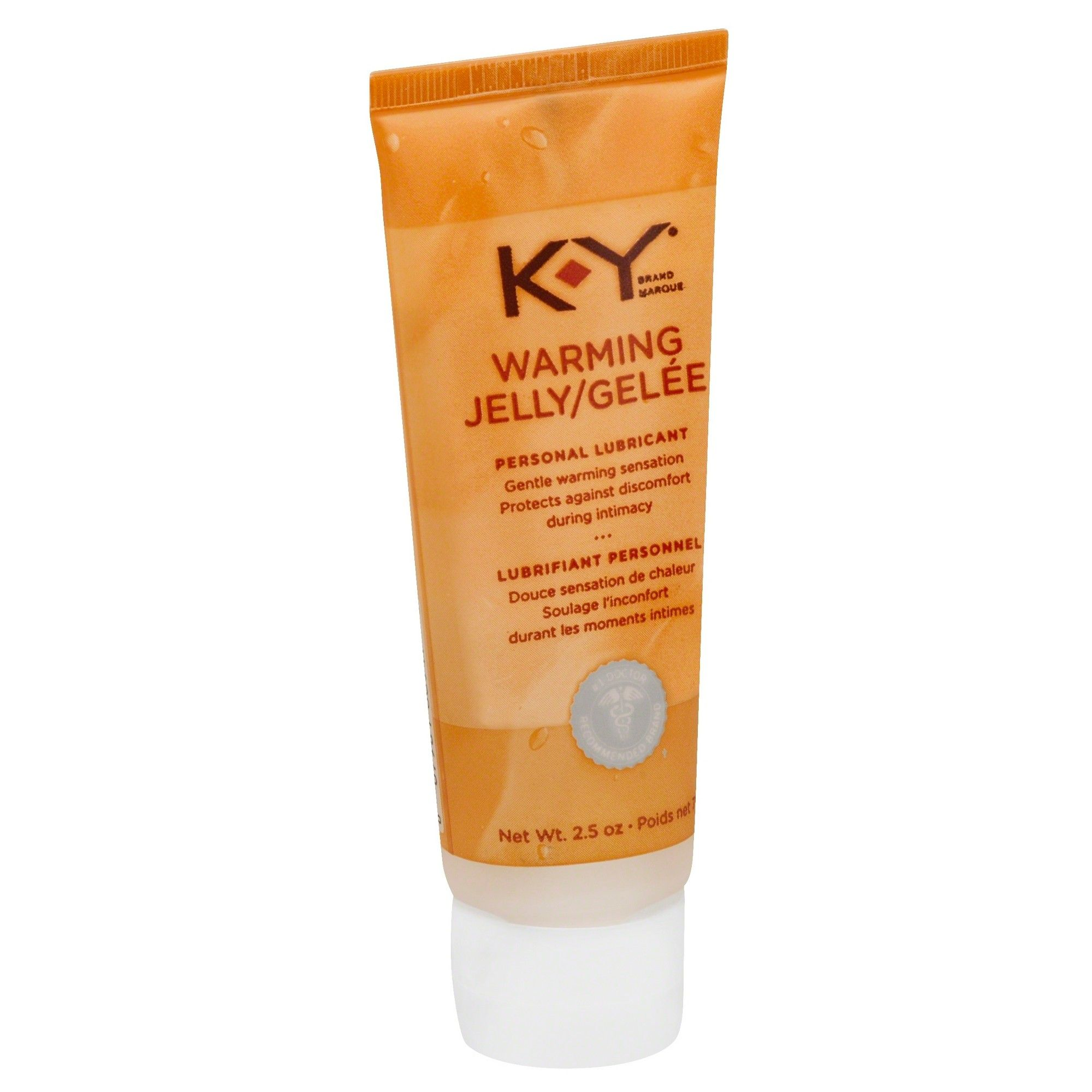 KY Warming Jelly Personal Lubricant 2.5 oz Jelly