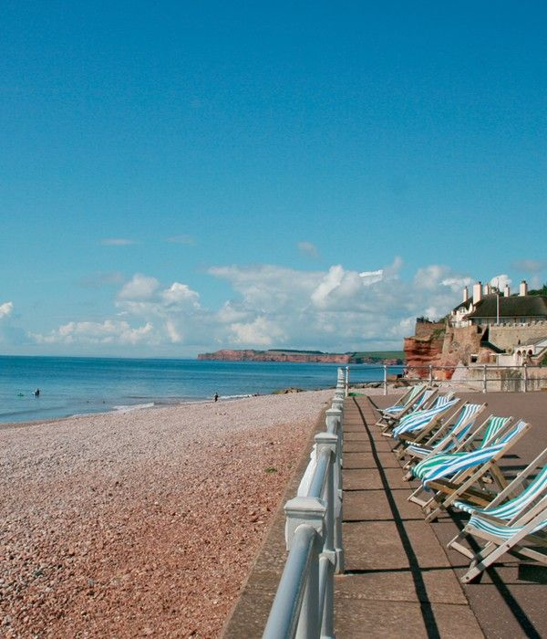 Sidmouth Harbour Hotel Beautiful Scenery Westcliff Devon Uk