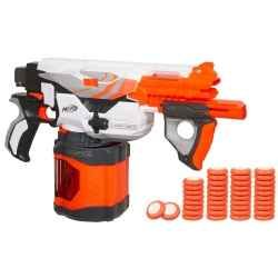 After a lifetime of Nerf product use I have finally found the coolest guns.