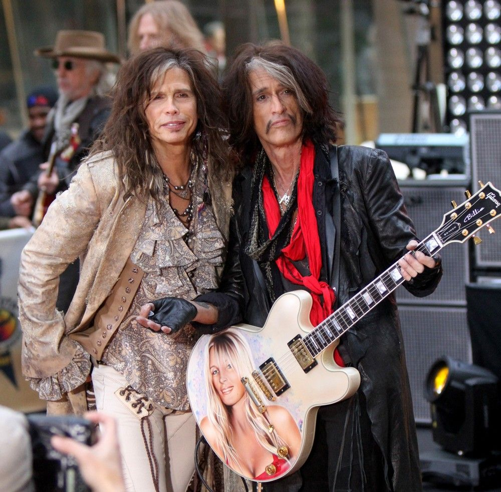 Aerosmith Picture 47 - Aerosmith Performing Live During The Today ...