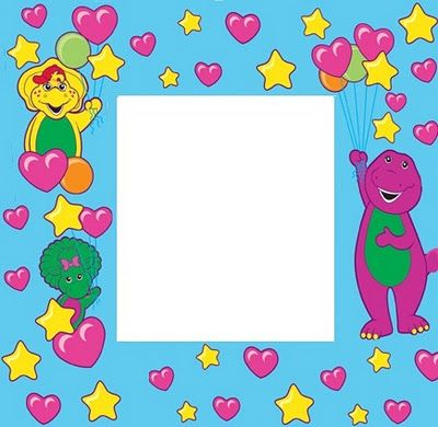 Barney picture frame | BARNEY BIRTHDAY PARTY in 2018 | Pinterest ...