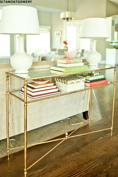 20 Ways To Style Your Console Table Family Room Home