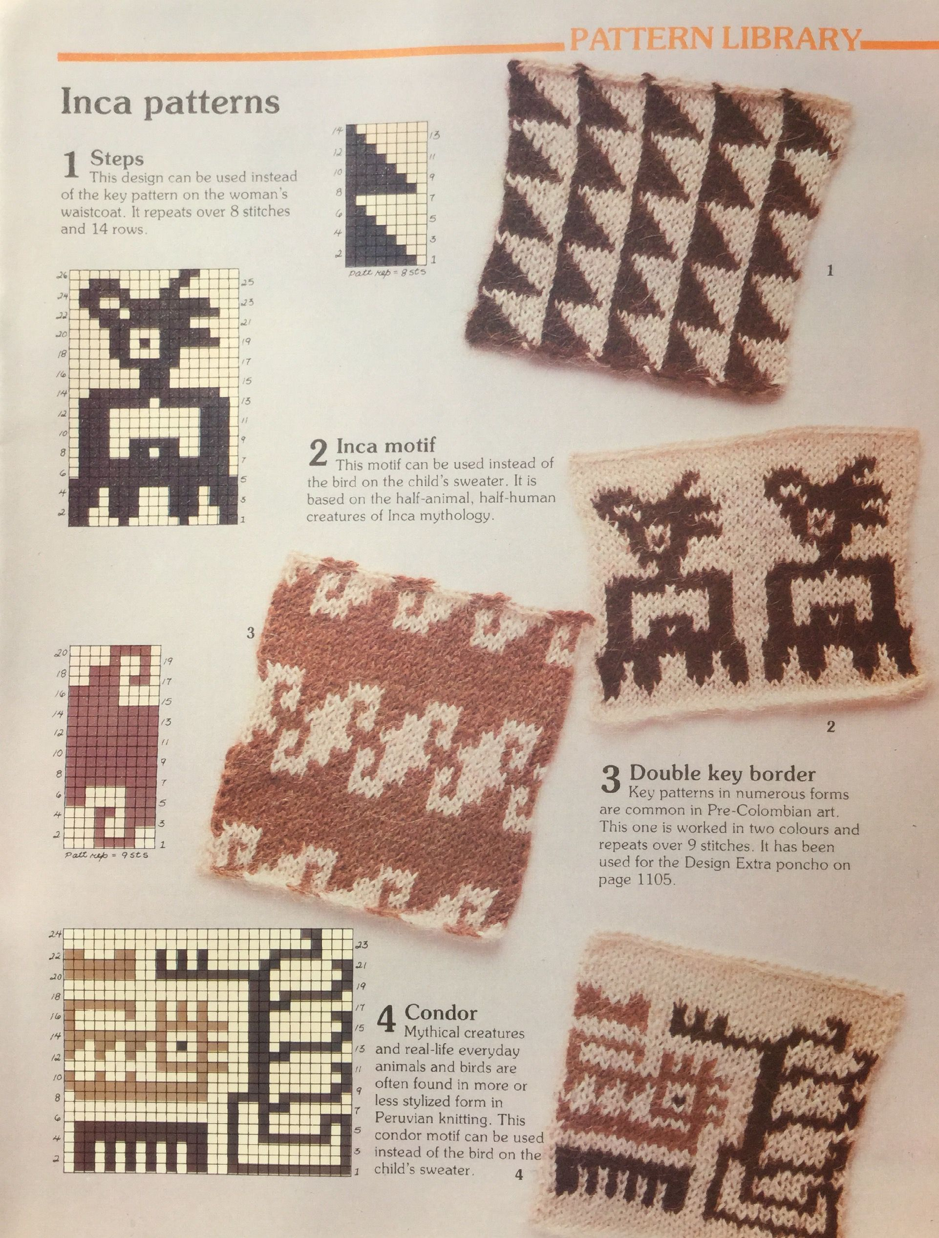 Inca Patterns Knitting Stitch Library Busy Needles Part 40