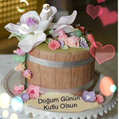 En Guzel Dogum Gunu Resimli Mesajlari 2017 Dogum Gunu Mesajlari Dogum Gunu Pasta Resimleri Diaper Cake Cake Birthday