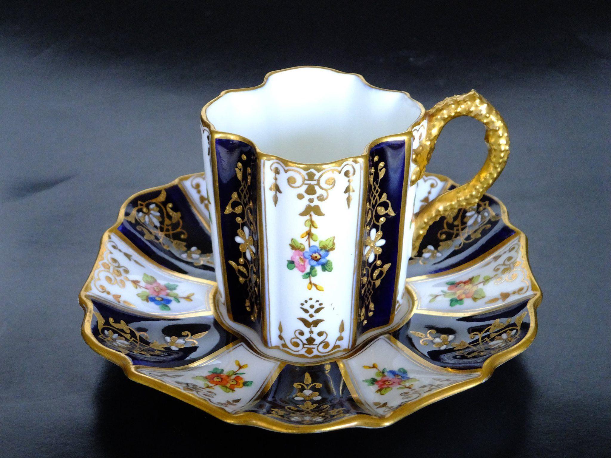 Coalport UK 1890-1920 (Kazumi Murakami collection) | Teacup Crazy ...