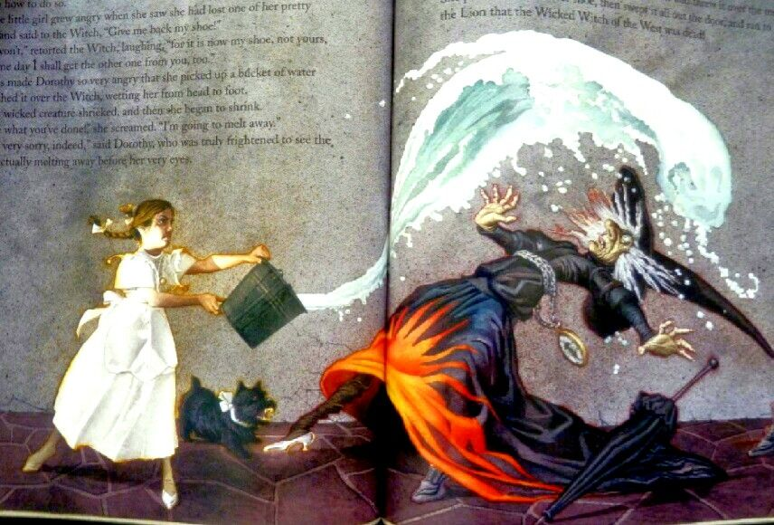Melting The Witch Of The West All Things Oz Wizard Of Oz Books