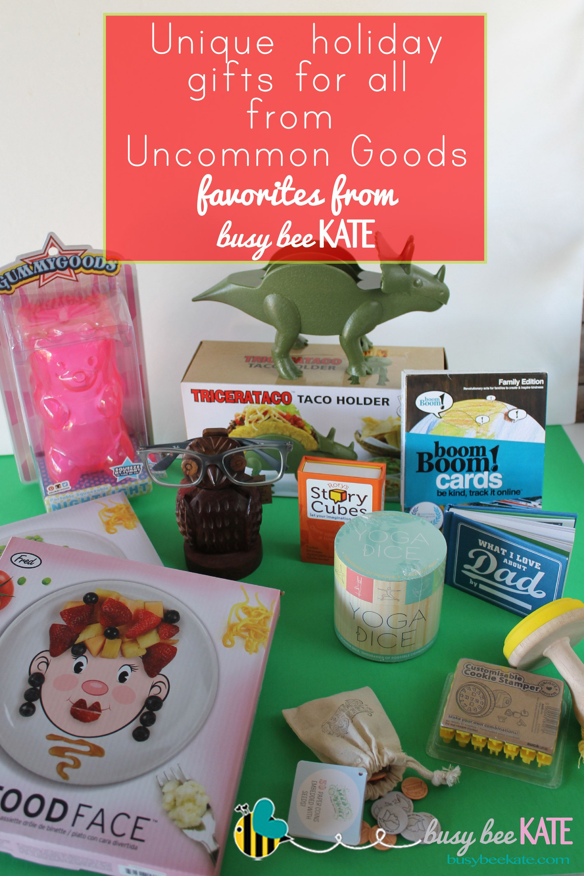 Unique Holiday Gifts for All From Uncommon Goods + Giveaway!