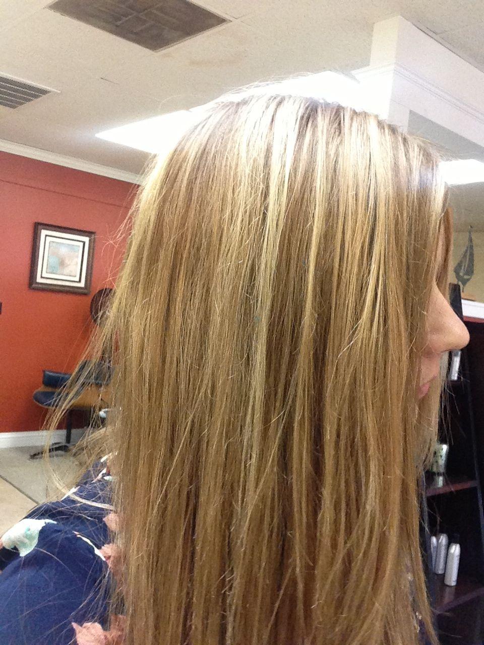 Carmel Blonde Highlights On Light Brown Hair Perfect Highlights