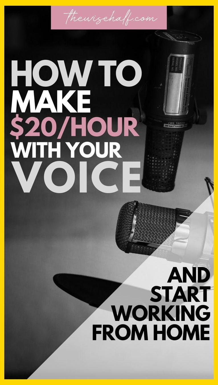 Beginning a profession in the voiceover industry is