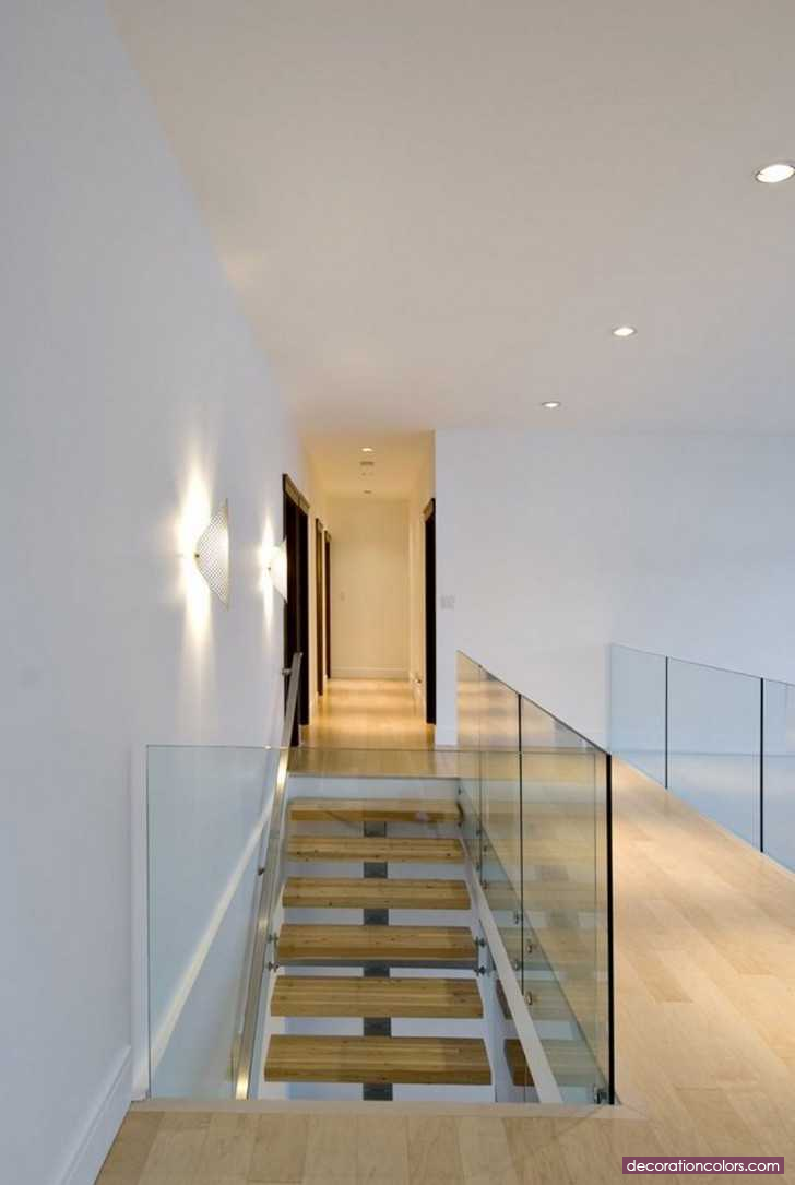 Stairs floating stairs glass balustrade staircases modern design floor plans patios
