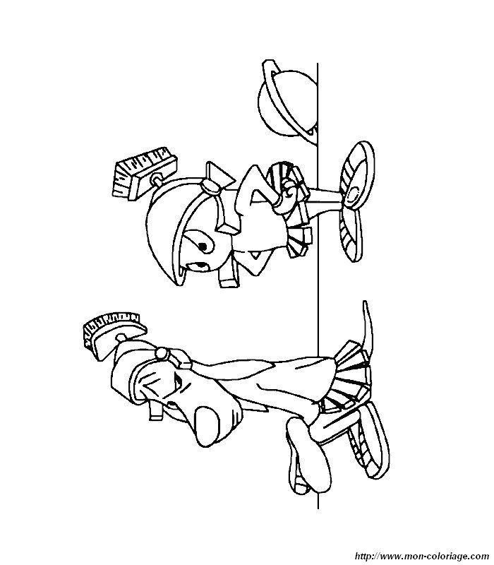 marvin the martian coloring page - Marvin The Martian Coloring Pages
