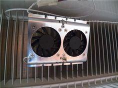 Frig Fan Keeps The Rv Frig Much Cooler Easy Installation Vintage Rv