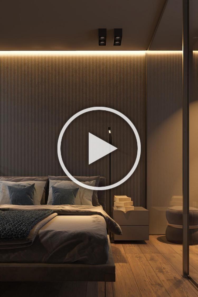 40  Admirable Dark Grey Home Decor With Warm LED Lighting Design Ideas #homedecor #homedecorideas