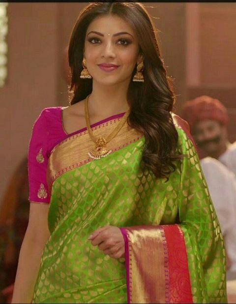 Kajal Aggarwal Latest Saree Photoshoot Goes Viral Bridal Sarees South Indian Saree Photoshoot Silk Sarees