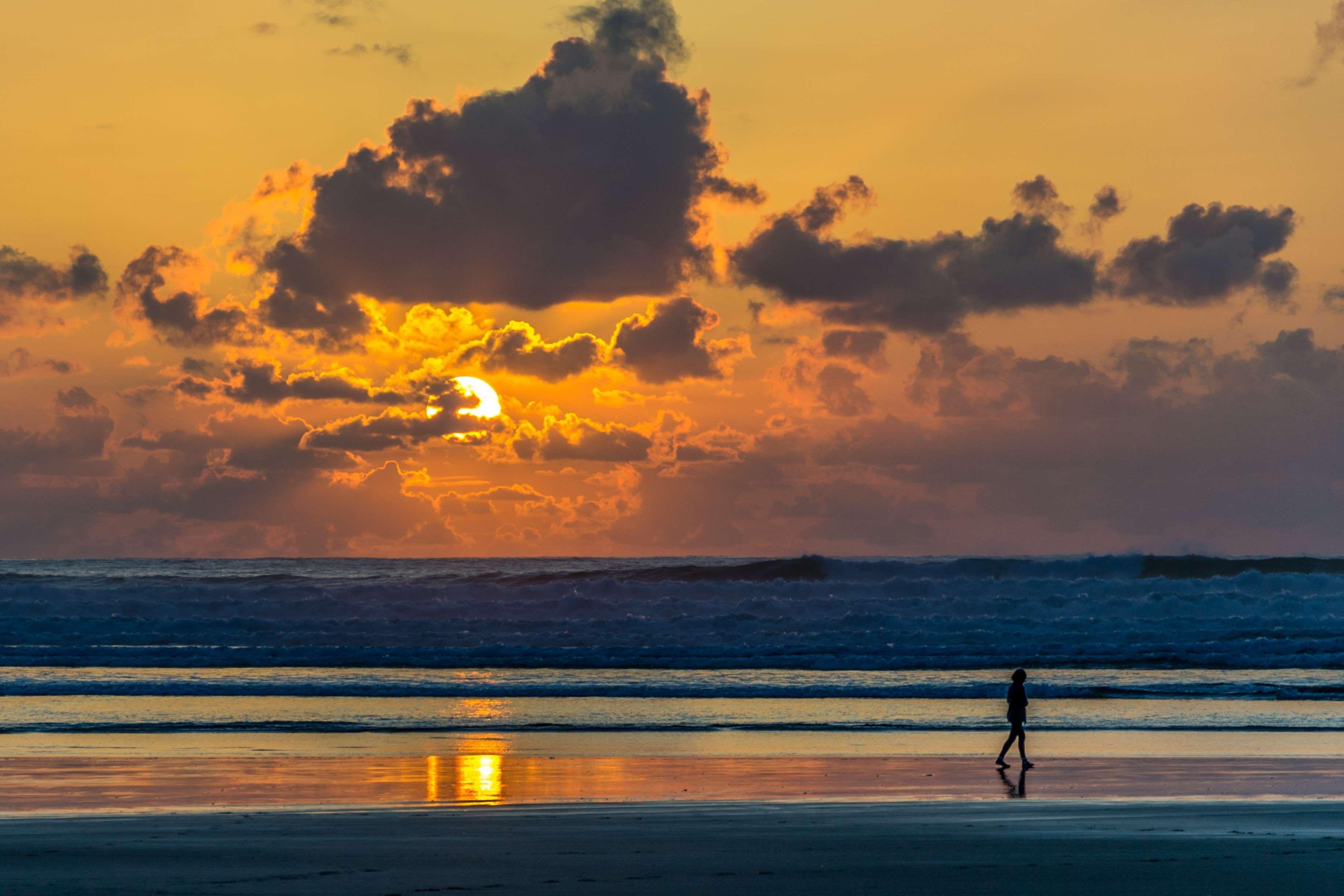 Beach Clouds Dawn Dusk Evening Horizon Island Landscape Leisure Nature Ocean Outdoors Person Recreat Sunset Pictures Sunset Beach Pictures Sunset