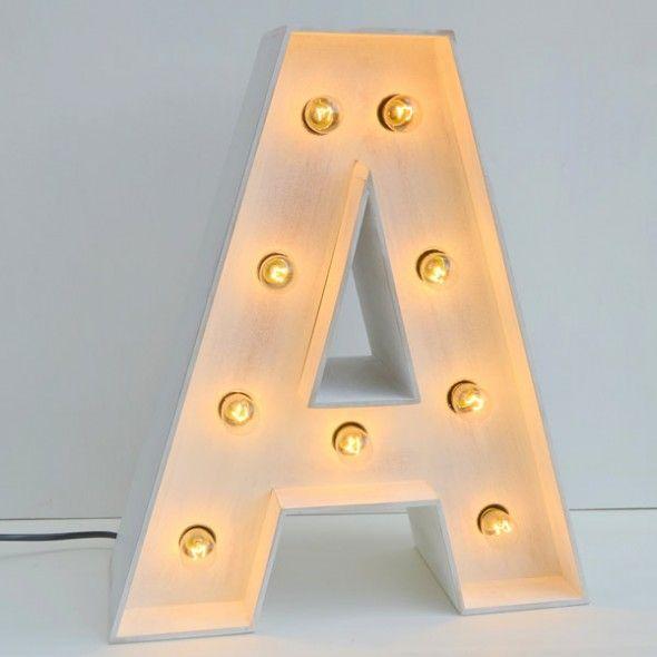 Letras luminosas para habitaciones infantiles una idea magnfica