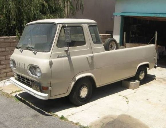 Original Paint 1964 Ford Econoline Pickup 1964 Ford Van For