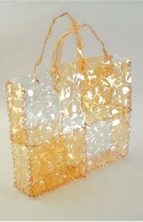 Bag Made Out Of Plastic Bottles