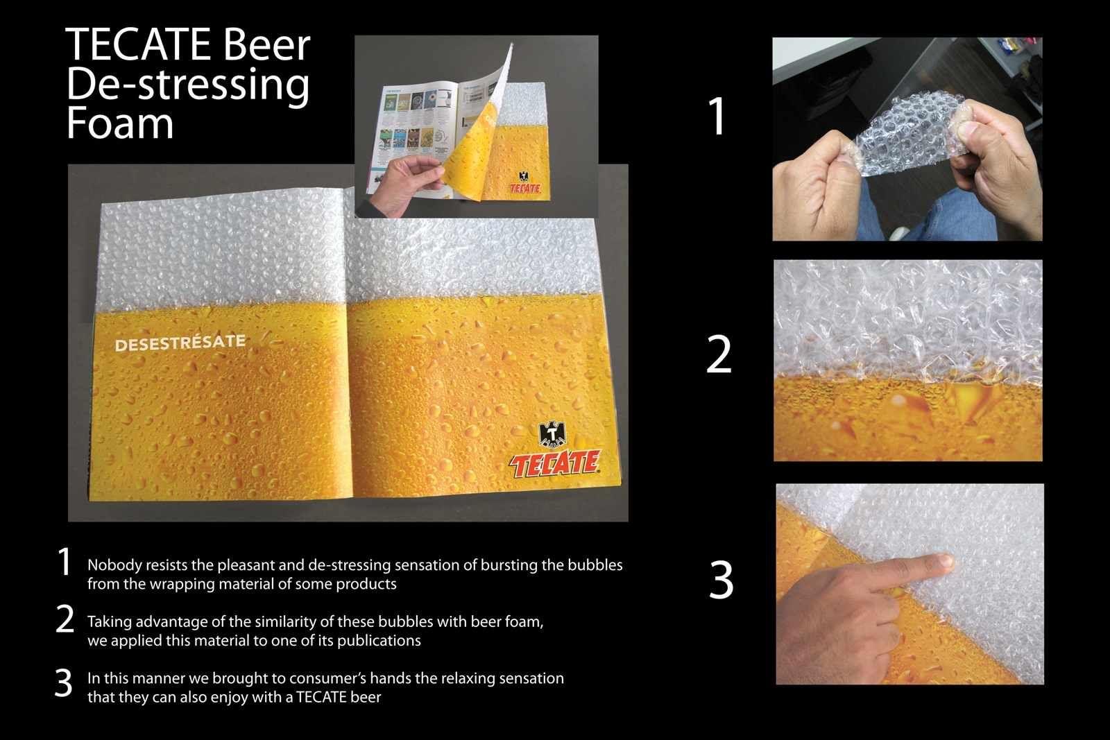 Tecate beer de stressing foam great or weird ads pinterest tecate beer de stressing foam mozeypictures Choice Image