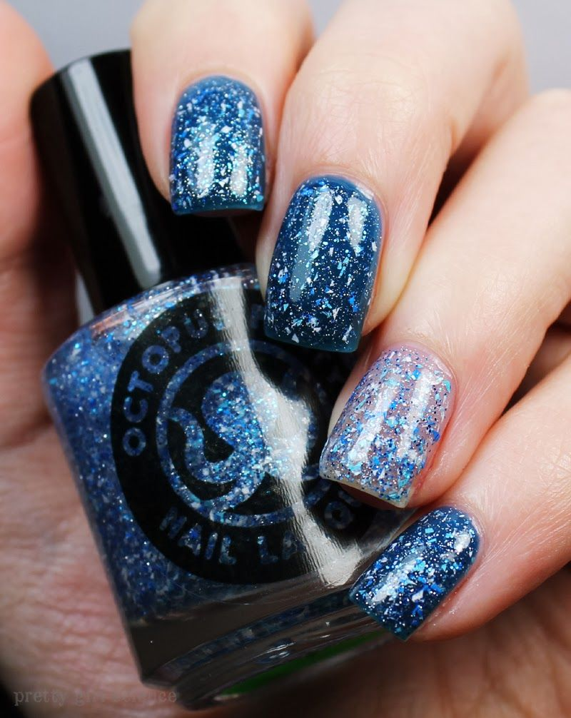 Octopus Party Nail Lacquer Frost Bites Natural nail