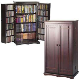Exceptional Entertainment Furniture | Multimedia Storage | Leslie Dame   Solid Oak Multimedia  Storage Cabinets   GlobalIndustrial