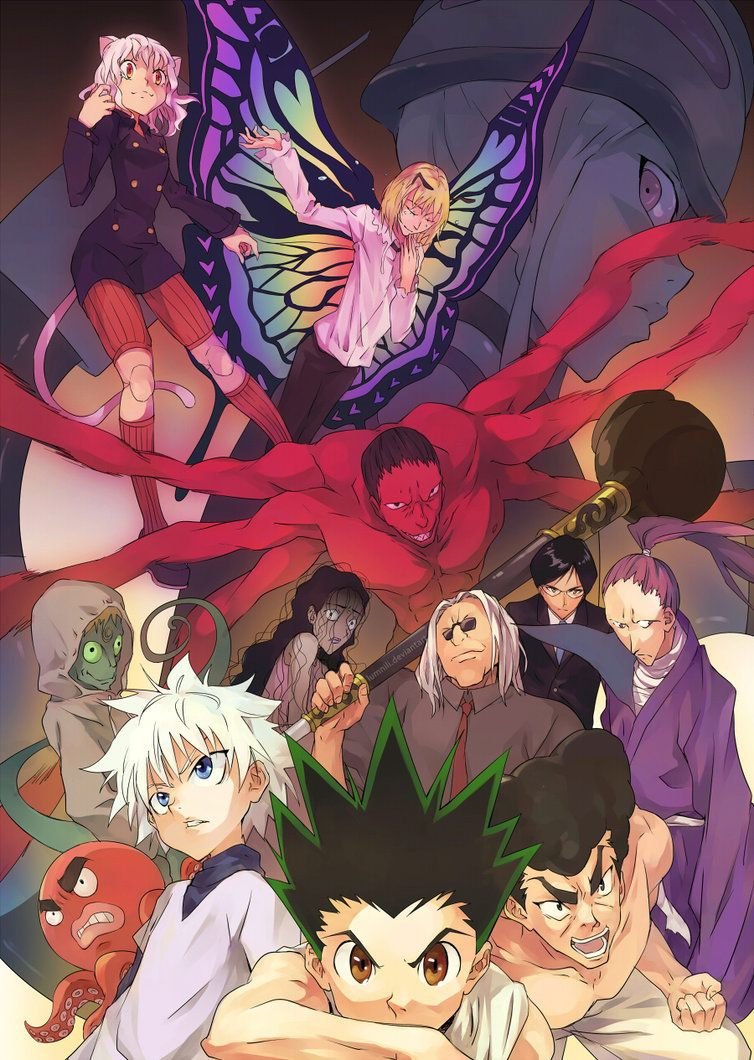 Hunter X Hunter Chimera Ants : hunter, chimera, Chimera, Supern-0-va, Hunter, Hunter,, Anime,
