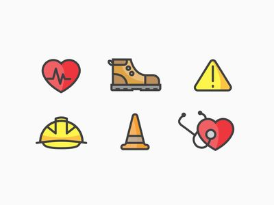 health and safety icons safety and icons