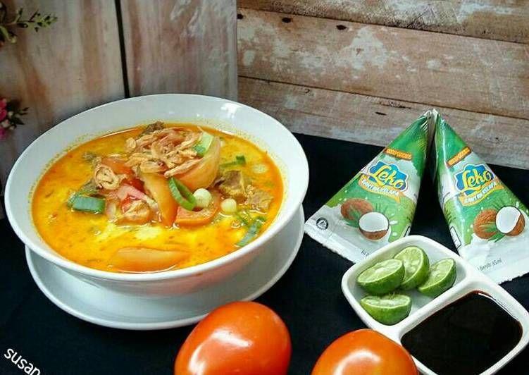 Resep Soto Tangkar Betawi Oleh Susan Mellyani Resep Resep Masakan Resep Resep Sederhana