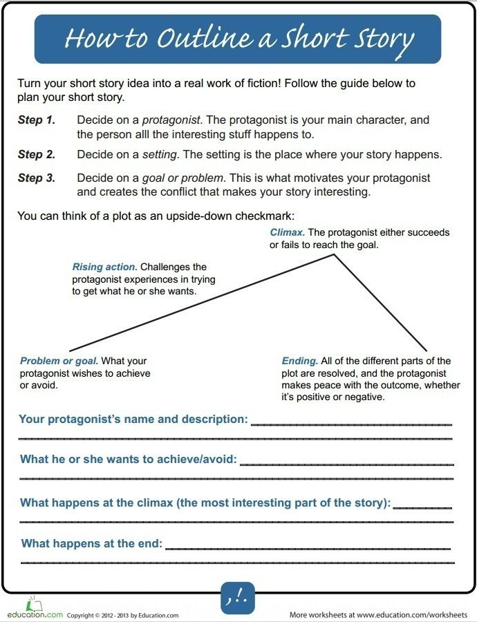 How To Outline A Short Story - For Beginners writing Fiction