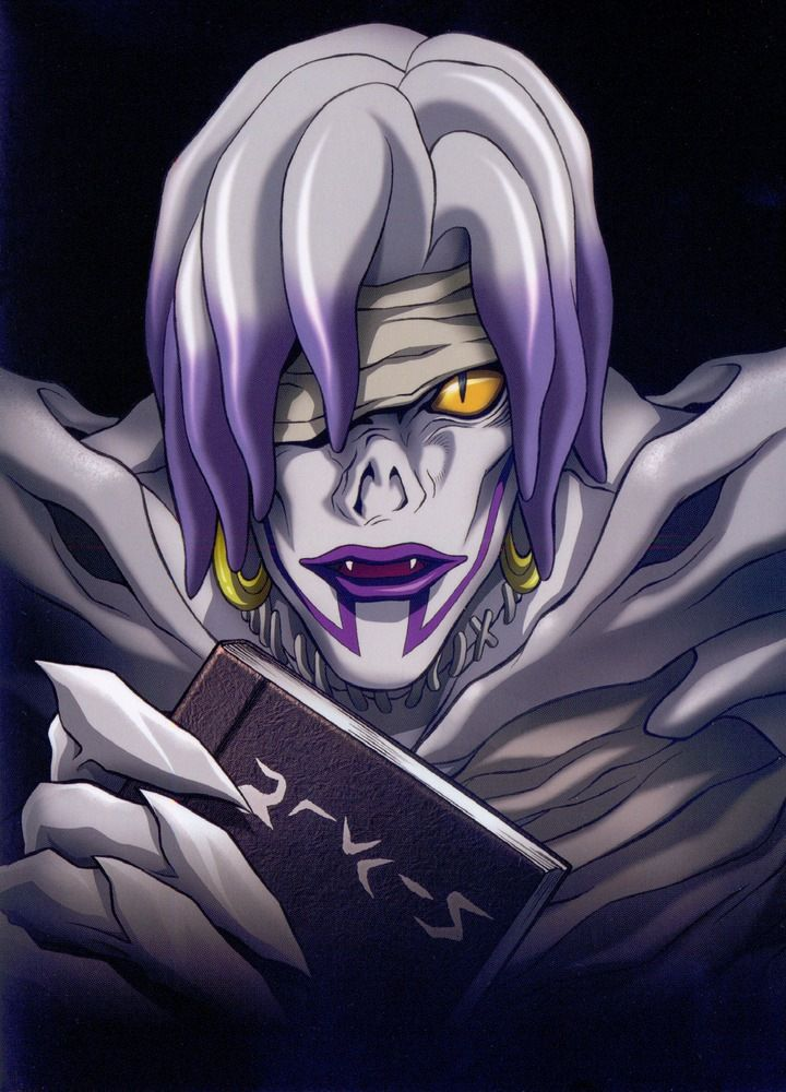 I Always Seem To Like The Underrated Characters DeathNote Rem Shinigami Manga