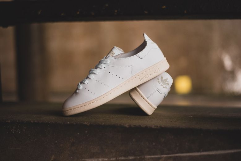 online retailer d98a7 d6339 adidas Elevates the Stan Smith with a Luxe Deconstructed ...