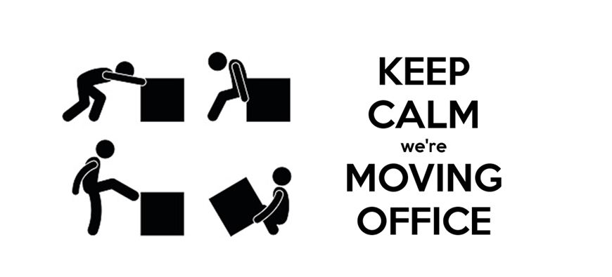 Keep Calm We Are Moving Office #Quote #vvarchitects