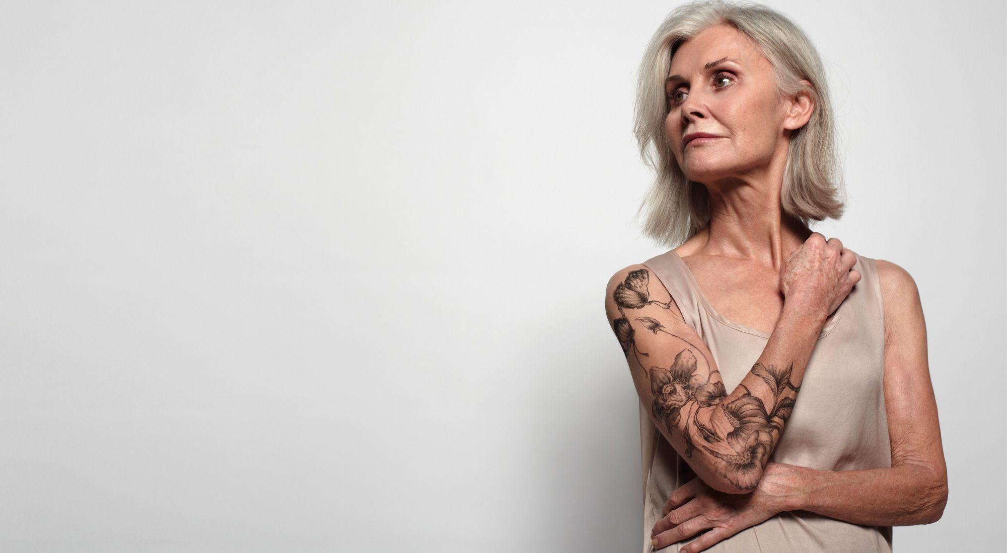 Mature tattooed women tattoo
