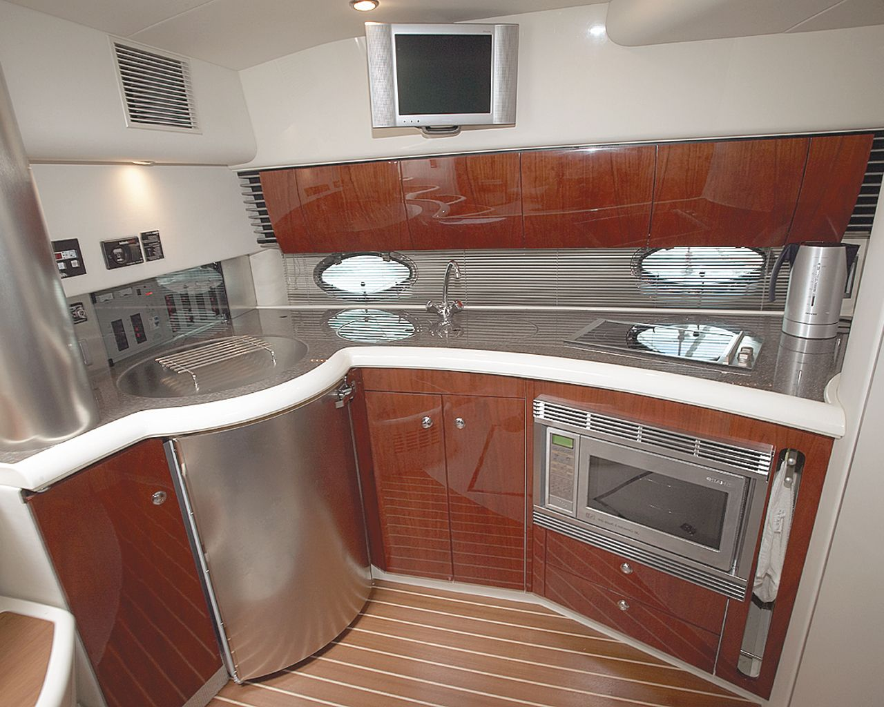 small yacht kitchen plan Google Search Tiny Home Design Ideas